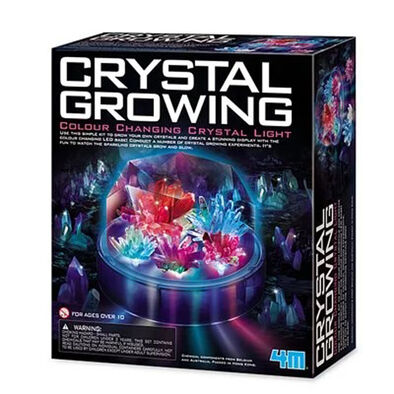 4M 神奇水晶連變色燈座套裝