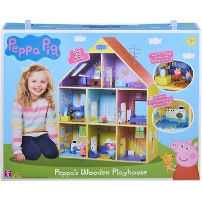 Character Options Peppa Pig粉紅豬小妹-超質感巨型木製房屋組