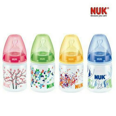 Nuk 150Ml Pp Bottle, Silicone, S1