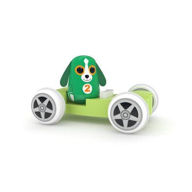 J'Adore 小狗骨頭小車