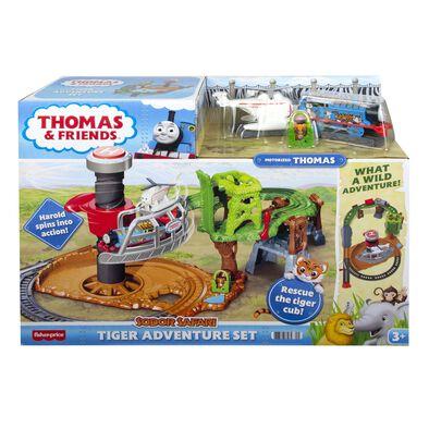 Fisher-Price費雪 湯瑪士小火車 動物園冒險套裝