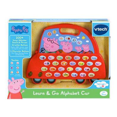 Vtech Peppa Pig Learn & Go Alphabet Car