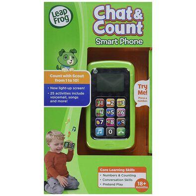 Leapfrog跳跳蛙 數數聰明小手機 綠色