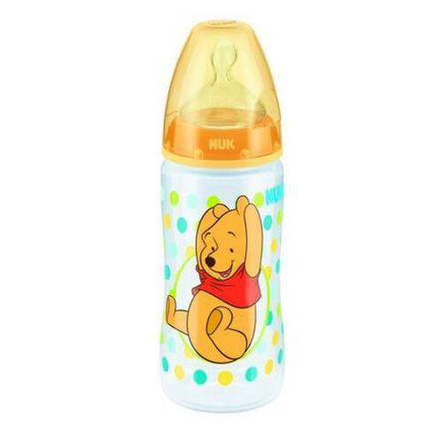 Nuk Disney迪士尼300Ml寬口pp奶瓶/矽膠奶咀1號中孔