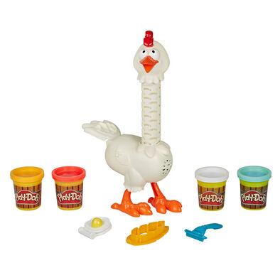 Play-Doh 培樂多 趣怪動物 Cluck-a-Dee 羽毛趣怪雞
