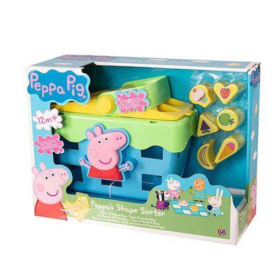 Peppa Pig Shape Sorter Picnic Set