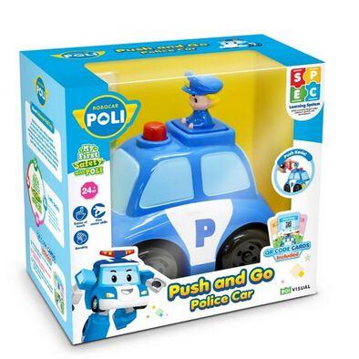 Robocar Poli救援小英雄波力 推推,警車