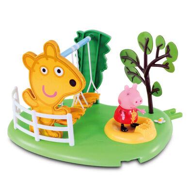 Peppa Pig粉紅豬小妹-遊樂場玩具組 ( 鞦韆 或 滑梯 )