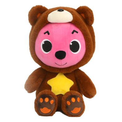 Pinkfong Pinkfong碰碰狐小熊服公仔