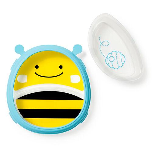 Skip Hop  Zoo可愛動物園整潔餐具套裝 - 蜜蜂