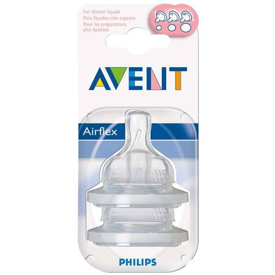 Philips Avent新安怡 奶嘴可變速流量 兩個裝