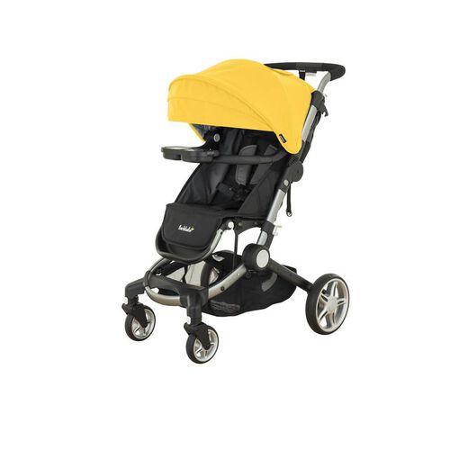 Larktale 黃色環球旅行家嬰兒手推車