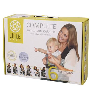 Líllé Baby四季款石頭色嬰兒背帶