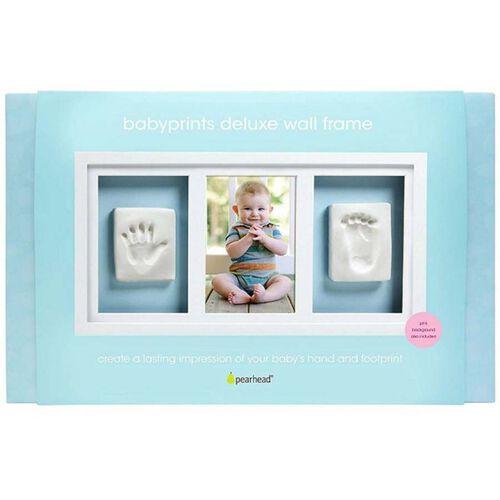 Pearhead 寶寶印記精品掛墻相框 - 白色