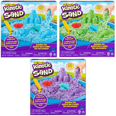 Kinetic Sand動力沙 沙盤套裝-隨機發貨