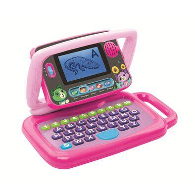 Leapfrog跳跳蛙 二合一點屏益智學習小電腦 (粉紅色)