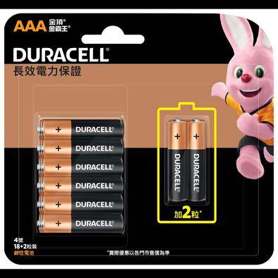 Duracell金霸王 鹼性電芯aaa 20粒裝