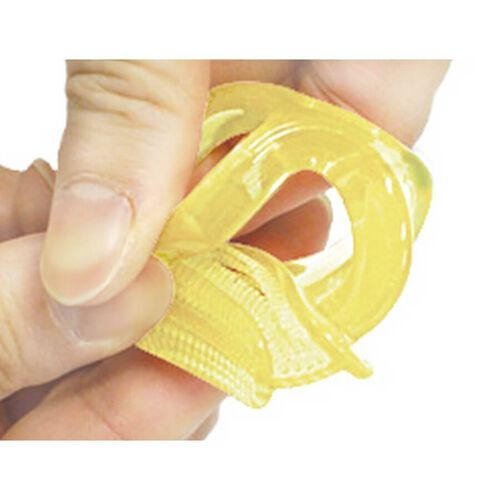 Edison Mama矽膠牙刷及牙刷盒(黃色)