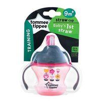 Tommee Tippee湯美星雙耳吸管杯(150Ml) 粉紅色