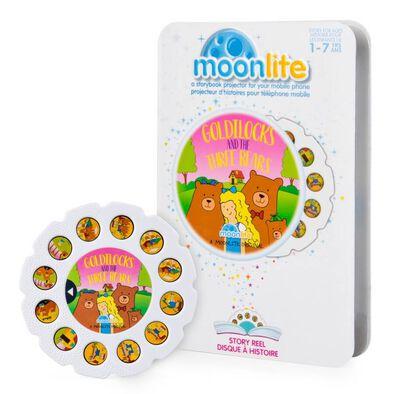 Moonlite月光故事單件幻燈片 金髮女孩和三隻小熊