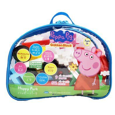 Peppa Pig粉紅豬小妹日本學研智積木-快樂公園組合