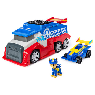 Paw Patrol Ready Race Rescue Mobile Pit Stop Team Vehicle