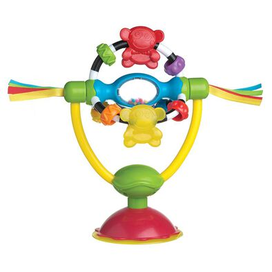 Playgro培高 小猴仔摩天輪餐椅訓練吸盤玩具