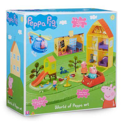 Peppa Pig粉紅豬小妹 - 住屋玩具組合