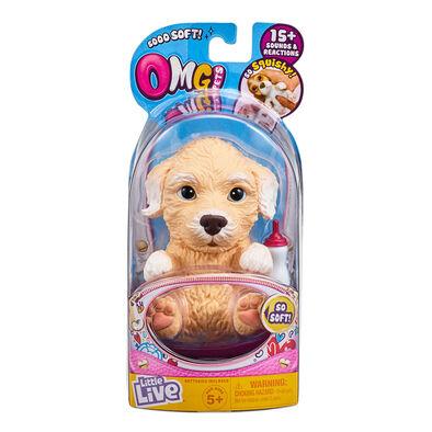Little Live Pets我的小寵物可愛發聲小狗-貴富狗-隨機發貨