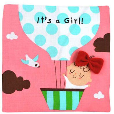 K's Kids 初生女孩的第一本布書