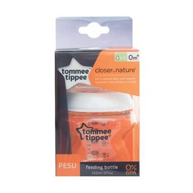Tommee Tippee Closer To Nature Pesu 150mL Bottle