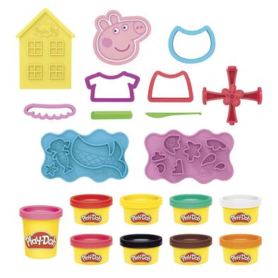 Play-Doh培樂多pegga Pig 造型套裝