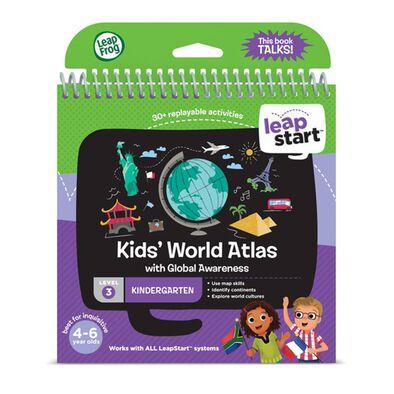 LeapFrog跳跳蛙 Leapstart Level 3 Kid's World Atlas
