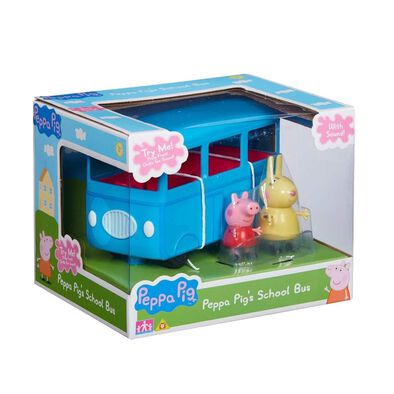 Peppa Pig's School Bus With Sound