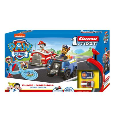 Carrera First Paw Patrol Chase Marshall Track Patrol