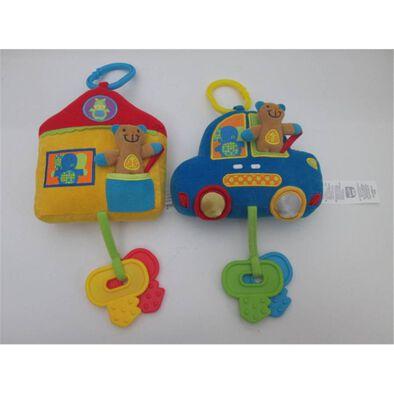 Bru Infant & Preschool 車仔件屋仔連膠鎖匙 隨機發貨