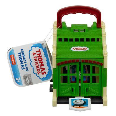 Thomas & Friends湯瑪士小火車 湯瑪士建造車庫遊戲組