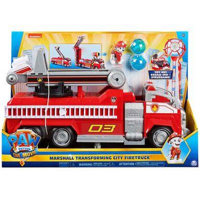 Paw Patrol The Movie Marshall Transforming Fire Truck