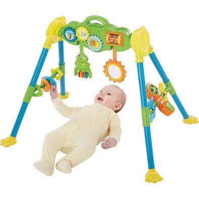 Bru Infant & Preschool 嬰兒太陽花和青蛙吊花運動架盒庄