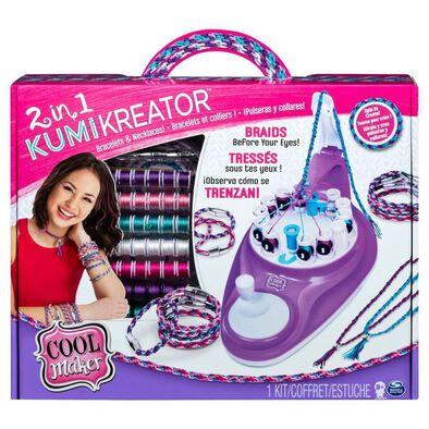 Cool Maker二合一幸運手繩編織機升級版