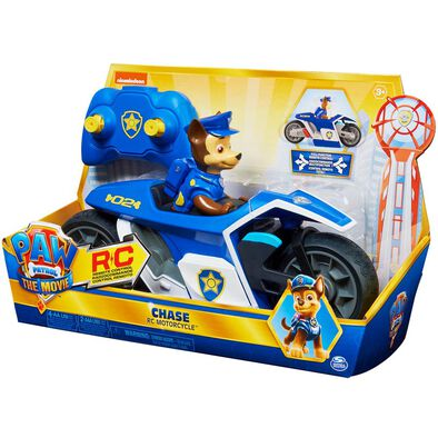 Paw Patrol The Movie Chase Rc Motorcycle