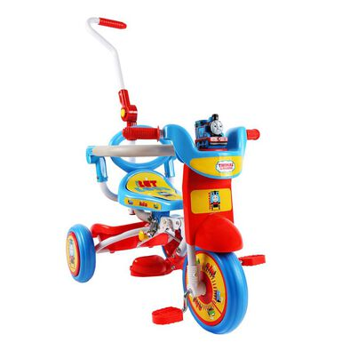 Baby Star Thomas & Friends Foldable Trike With Pushing Bar