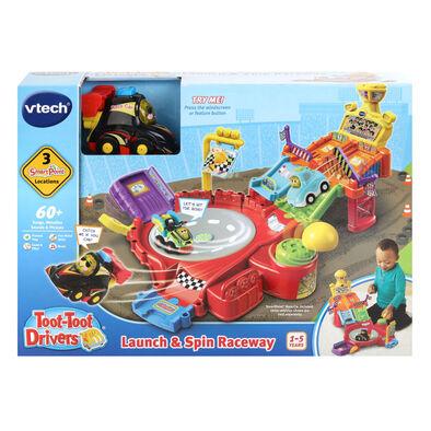 Vtech偉易達 互動學習車系列 - 旋轉賽道車