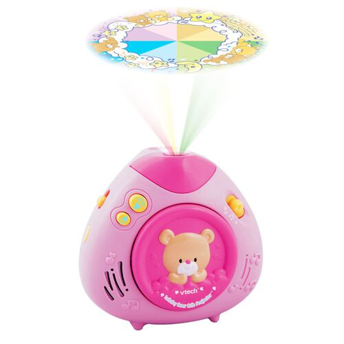 Vtech偉易達 粉紅小熊投射燈