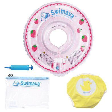 Swimava Baby Starter Ring - Pink Berry