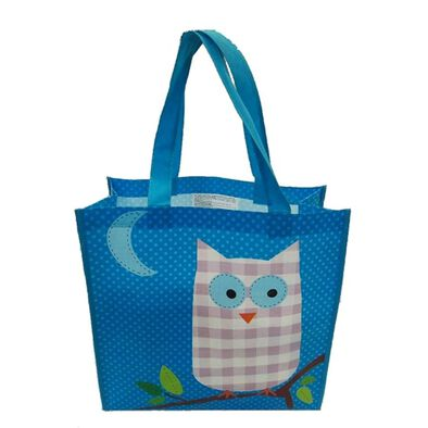 "Babies""R""Us Owl Large Reusable Tote Bag"