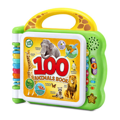 Leapfrog跳跳蛙 100種動物雙語學習書