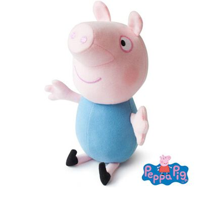 Peppa Pig粉紅豬小妹 9 吋 喬治毛公仔(無聲)