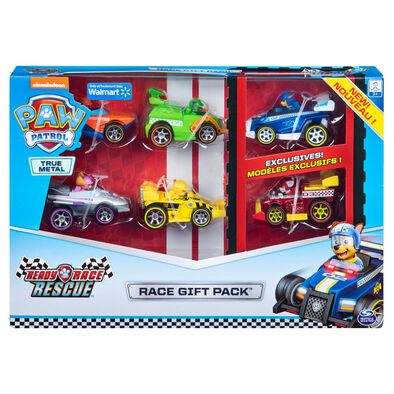 Paw Patrol Ready Race Rescue True Metal Gift Pack
